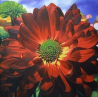 Look Up Tothe Sky-Oil Painting by Oil-Gallery