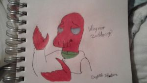 Why not Zoidberg? by Crysta-Lynx
