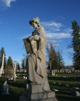 Forestvale Cemetery 13 by Falln-Stock