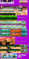 Backgrounds Ft. Seaside Hill - Sonic Advanced by parrishbroadnax