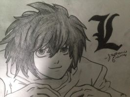 L Lawliet by Codawinx
