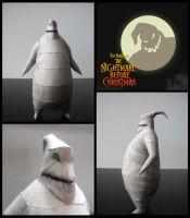 Oogie-Boogie Papercraft by Noemie-in-Art