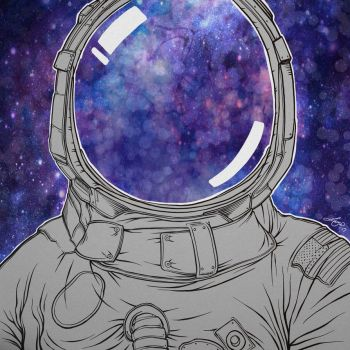 Day 24: Space Cadet by LoganChildress