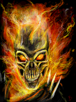 ghost rider by big-black-and-scary