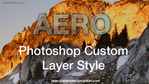 Aero Glass Effect PhotoshopTut by balderoine