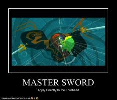 LoZ Windwaker Demotivational by SnowCatManga
