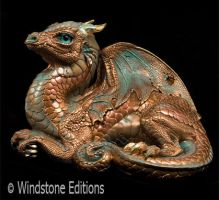 Old Warrior dragon copper by Reptangle