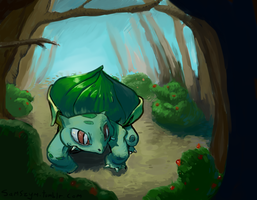 bulbasaur by samszym
