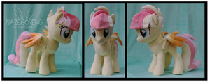 Bubbles OC Custom Plush by Nazegoreng