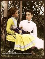 Young Helen Keller in 1888 by Livadialilacs