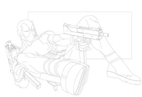 Deadpool 2012 Lines by paco850