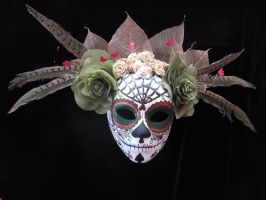 Day of the Dead Mask 1 by JacomenaMcGuire