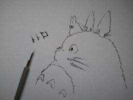 Totoro made by kiger8kiger