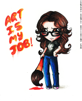 ART is my JOB by Yukyona-G-R