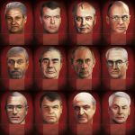 Kremlin Boardgame - Modern Era Heads by anderpeich
