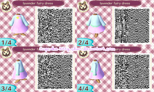 QR Code: Lavender Fairy Dress by Sugary-Stardust