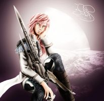 Lightning Fanart by SerenaKaori87