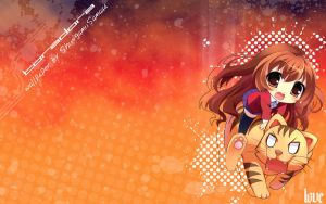 Wallpaper toradora by GloomyBearCo