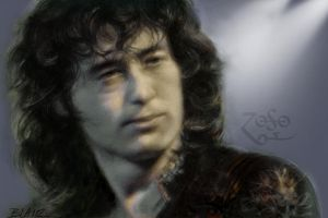 Jimmy Page, Guitar Hero by Cynthia-Blair