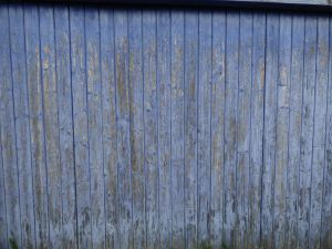 Texture : old blue wooden door by A1Z2E3R