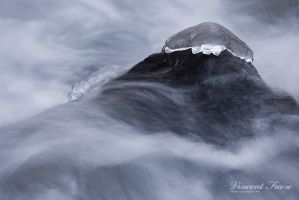 Ice jellyfish... by vincentfavre