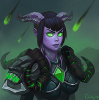 2016-11-12  draenei or not by lowly-owly