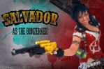 THE GUNZERKER by Its-Raining-Neon