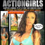 Goddess Armie Field owner of actiongirls by goddessarmie