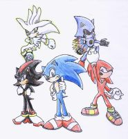 Sonic Rivals by YgdrasilChaosControl