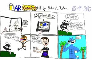 BARcomics #14 by BARproductions