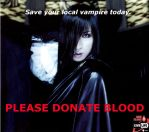 Please Donate Blood. by IronyChild