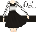 .:: MMD - Striped Dress DOWNLOAD ::. by AneCoco
