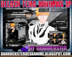 Ichigo Fullbring Theme Windows XP by Danrockster