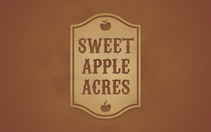 Sweet Apple Acres (Brown) by Pegajace