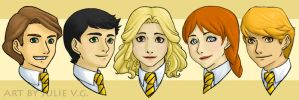 Minor Hufflepuffs by rei-chan