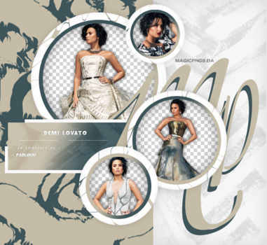PACK PNG 656 | DEMI LOVATO. by MAGIC-PNGS