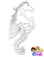 Hippocampus by Writer-Colorer