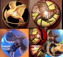 Hunger Games Ornaments by Dannybabe