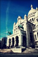 Sacre Couer III by lagattapiccola