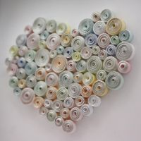 Quilled heart by InnaAdamenya