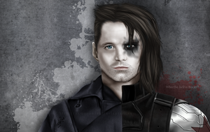 Bucky Barnes, the Winter Soldier by TheMoonfall