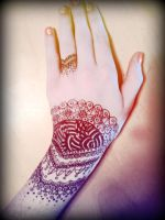 Another Henna Drawing by Bast-The-Cat-Goddess