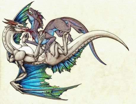 Full Collab of Fight Dragons by Yuugi90