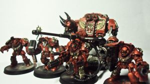 Angry Blood Angels by Severemis