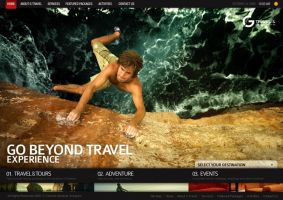G Travel Website by jpdguzman