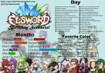 Elsword B-day Scenario by SupercellArrina