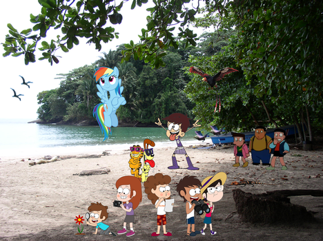 Alien Rainforest Resort Toons! by Fyrekobra