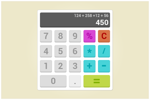 19 Calculator (freebie by pixelcave) by pixelcave