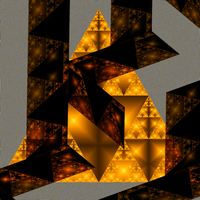 Illuminated Triangles by zisgul