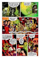 Ghostbusters Comic-Page (Color Practise) by Sunny-X-Ray